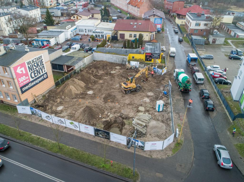 Postęp z budowy Silver Corner